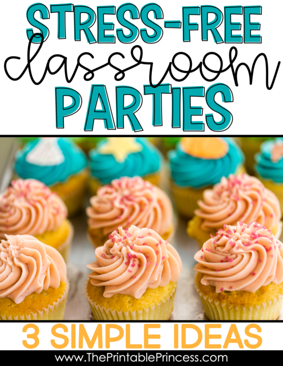If you're a PreK, Kindergarten, or First Grade teacher you know that classroom parties are super fun but planning them can be a lot of work. Here's three practical and easy to implement ideas to get the most out of your parties with the least amount of stress.