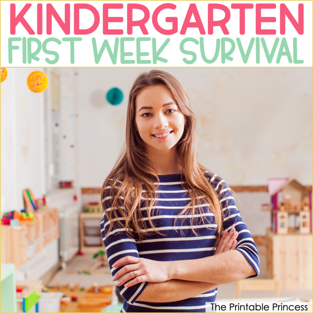 Survival Guide for the First Week of Kindergarten