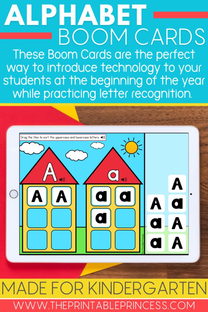 Alphabet Boom Cards