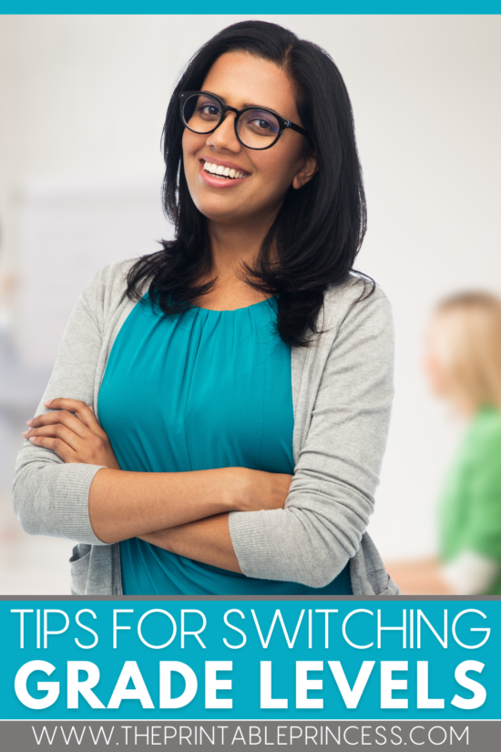 9 Tips for Switching Grade Levels