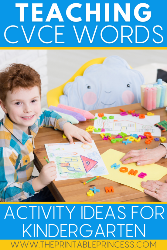 Tips for Teaching CVCe Words in Kindergarten