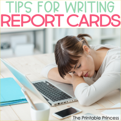 Practical Tips for Writing Report Card Comments