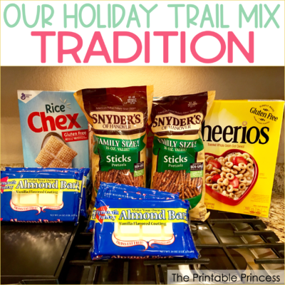 Holiday Trail Mix Recipe