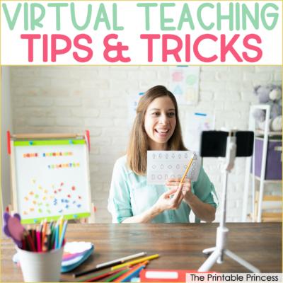 virtual teaching tips