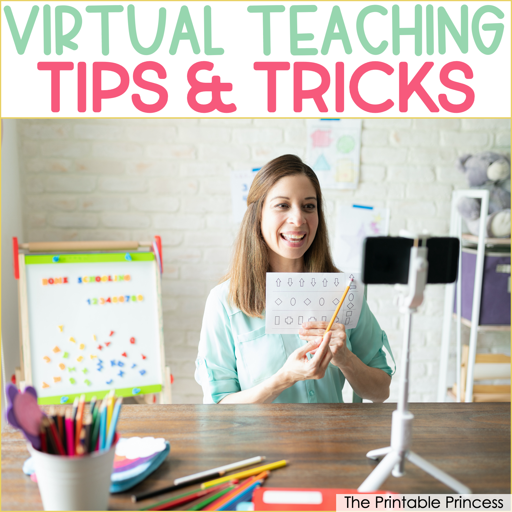 Tips For Virtual Teaching In Kindergarten
