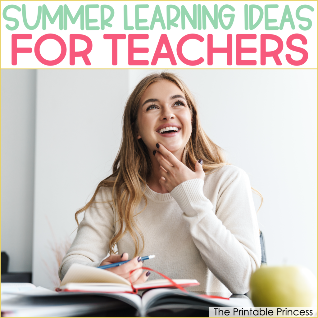6 Ways to Get Professional Development in Over the Summer