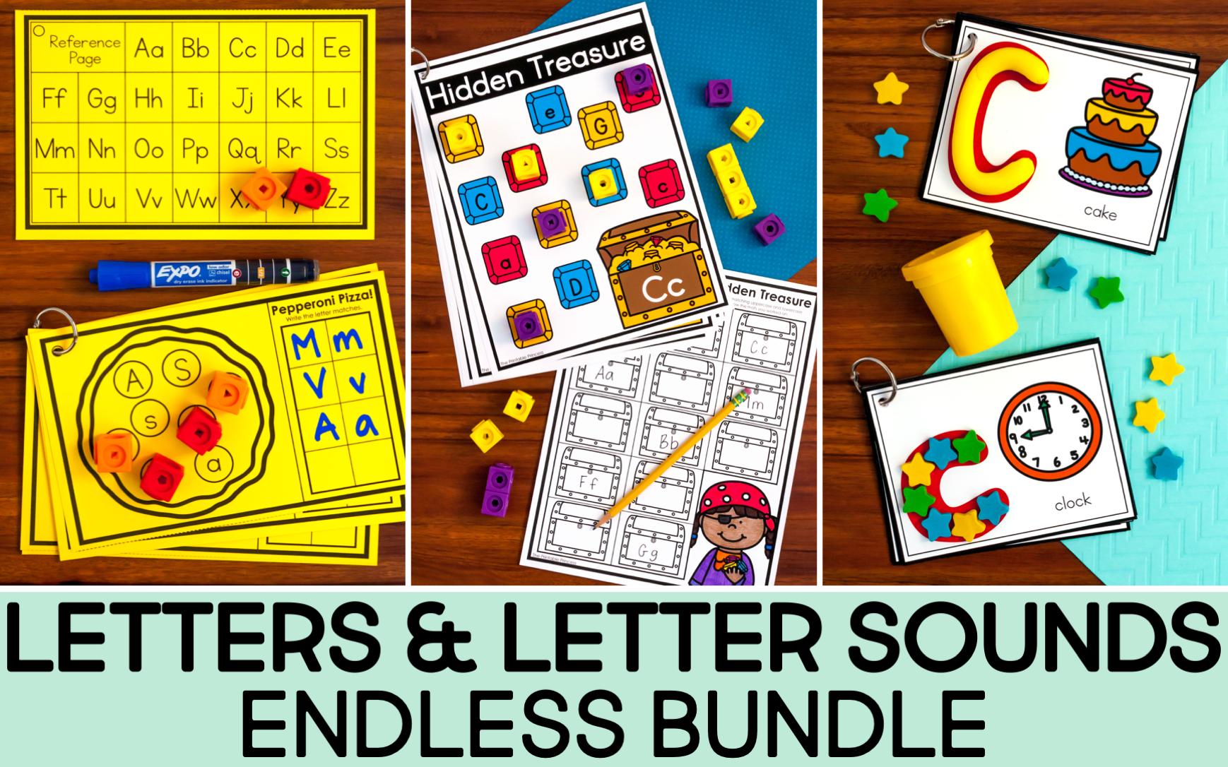 letters endless bundle