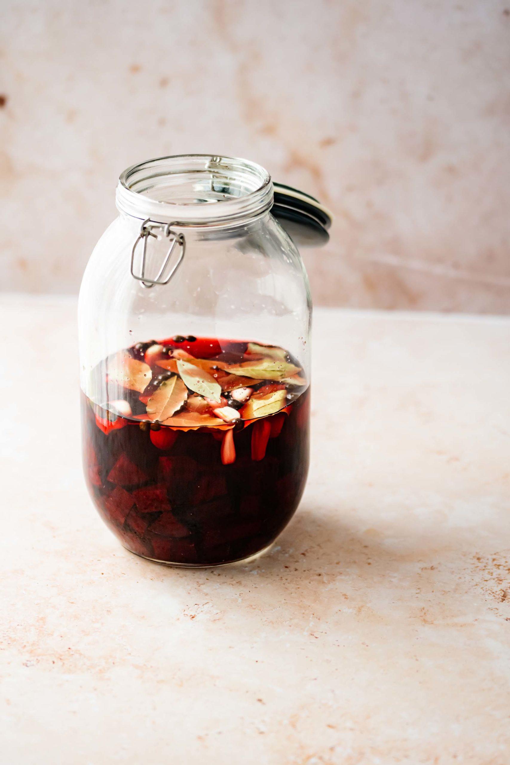 Cranberry Strawberry Tea